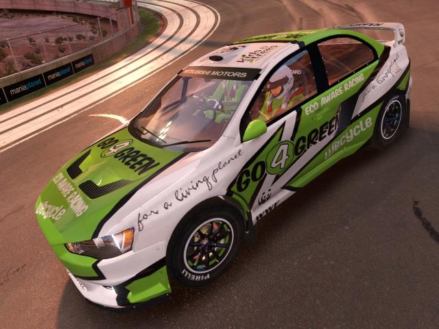 Maniapark Evo X Go 4 Green Rally