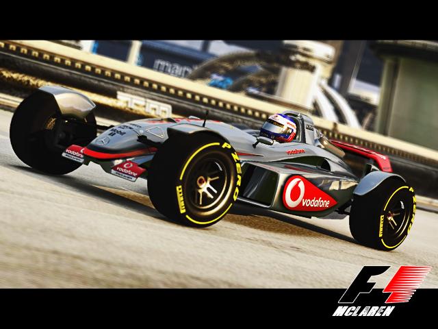 Mclaren Formula 1 Tracker Skins