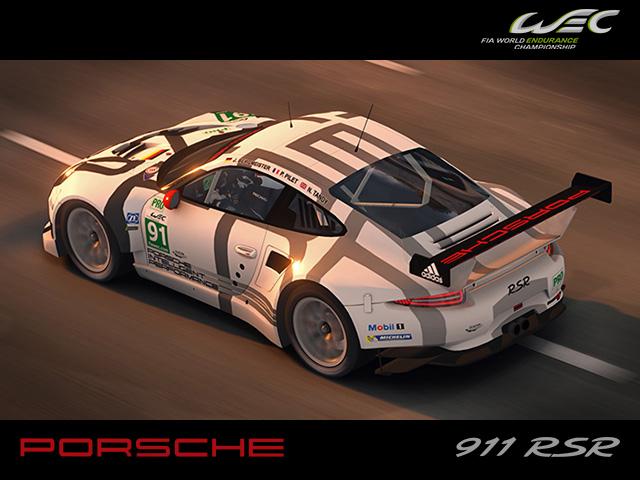 Maniapark Porsche 911 Rsr 2014